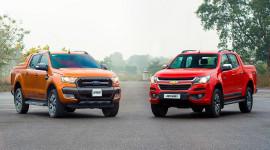 So sánh Ford Ranger Wildtrak 3.2 và Chevrolet Colorado High Country 2.8