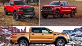 Ram 1500 2019, Ranger 2019 và Silverado 2019: Bộ 3 bán tải Mỹ cực chất