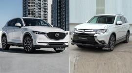 Chọn Mitsubishi Outlander 2018 hay Mazda CX-5 2018?
