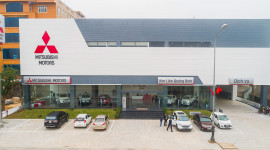 Khai trương Đại lý Mitsubishi Kim Liên Quảng Bình