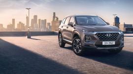 Rò rỉ hình ảnh chính thức của Hyundai Santa Fe 2019