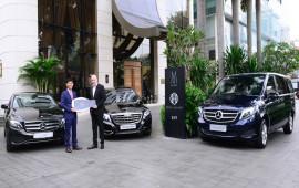 Bàn giao xe sang E 250 và V 250 Avantgarde cho khách sạn 5 sao tại Sài Gòn