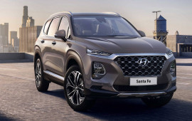 Hyundai Santa Fe 2019 có giá từ 26.512 USD