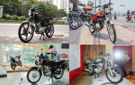 Điểm mặt 4 mẫu môtô hoài cổ giá dưới 50 triệu tại Việt Nam