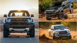 """Ranger Raptor – """"Kẻ thách thức"""" Tacoma TRD Pro và Colorado ZR2"""