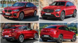 BMW X4 2019 và Mercedes GLC Coupe: Xe nào hấp dẫn hơn?