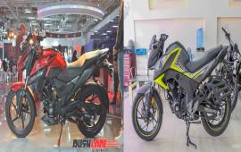 So sánh Honda X-Blade 160 và Honda CB Hornet 160R