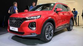 Hyundai Santa Fe 2019 có thêm bản Hybrid và PHEV