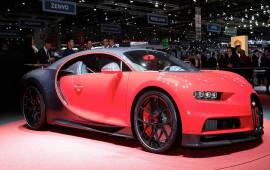 Siêu xe Bugatti Chiron Sport giá gần 3 triệu USD
