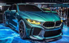 BMW M8 Gran Coupe Concept: Siêu phẩm hiệu suất cao