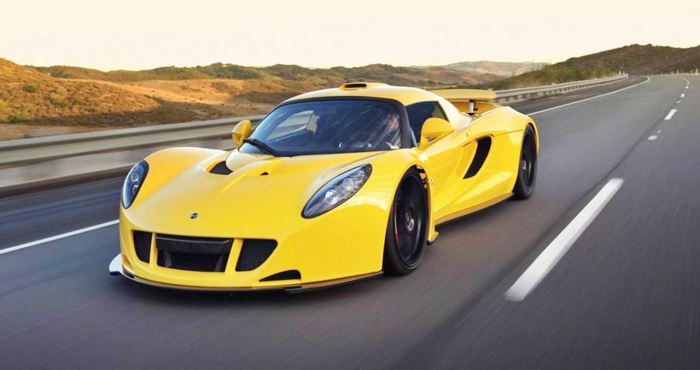 """7 siêu xe tốc độ """"khủng"""" hơn xe đua F1"""