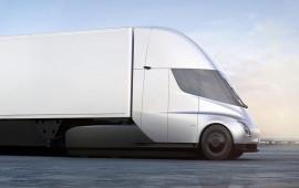 """Xe đầu kéo Tesla Semi tăng tốc cực """"ngọt"""" dù chở tới 36 tấn hàng"""