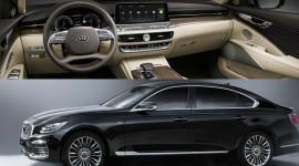 Kia K900 mới chính thức lộ diện