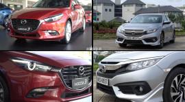 750 triệu đồng, chọn Mazda3 2.0L lắp ráp hay Honda Civic 1.8E nhập khẩu?