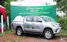 Toyota hỗ trợ bảo tồn thiên nhiên tại Việt Nam