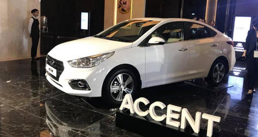 Lộ ảnh Hyundai Accent 2018 lắp ráp chuẩn bị ra mắt tại Việt Nam