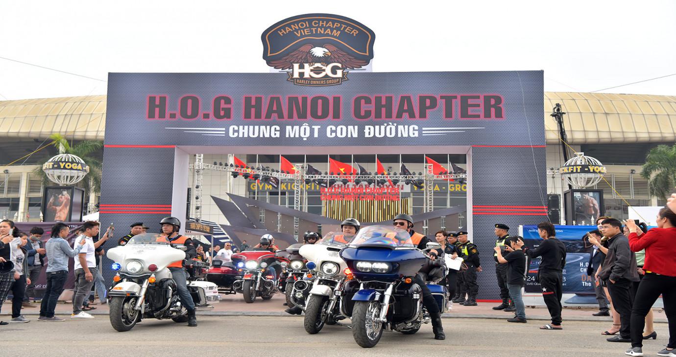 """Sôi động Ngày hội Môtô """"Day of H.O.G"""""""