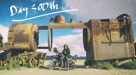 Dấu mốc 300 ngày đi phượt vòng quanh thế giới bằng xe máy của chàng trai Việt