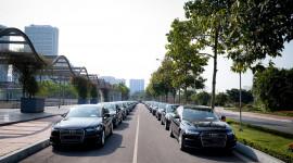 70 xe Audi đồng hành cùng Hội nghị cấp cao khu vực