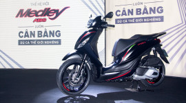 Piaggio Medley ABS 2018 ra mắt, giá từ 72,5 triệu