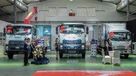"""Isuzu Việt Nam ra mắt thế hệ xe tải """"sạch"""" với công nghệ mới"""