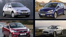 Lịch sử Ford Focus 20 năm qua