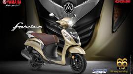 Yamaha Fascino 2018: xe tay ga giá rẻ cho phái đẹp