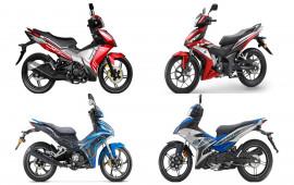 So sánh SYM VF3i, Yamaha Exciter 150, Honda Winner 150 và Benelli RFS150i