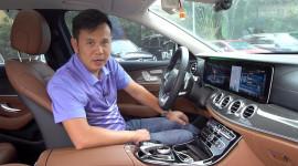 Thử công nghệ điều khiển giọng nói trên Mercedes-Benz E300 AMG
