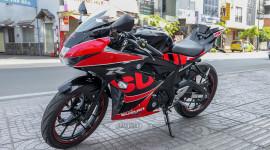"""Cận cảnh Suzuki GSX-R150 bản """"độ"""" chính hãng"""
