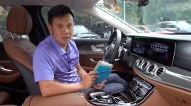 Tìm hiểu công nghệ điều khiển Comand Touch trên Mercedes-Benz E300 AMG