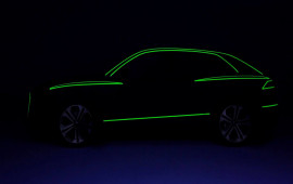 Audi hé lộ diện mạo của crossover Q8