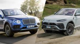 So sánh Bentley Bentayga và Lamborghini Urus qua những con số