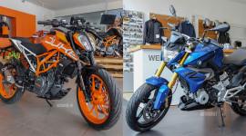 Dưới 200 triệu, chọn KTM 390 Duke 2018 hay BMW G310R 2018?