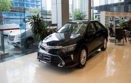 Bảng giá các mẫu xe Toyota tháng 5/2018