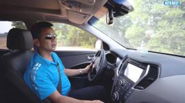 Thử tính năng Auto Hold trên Hyundai SantaFe