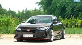"""Khám phá Honda Civic độ phong cách Type R """"khủng"""" bậc nhất Việt Nam"""