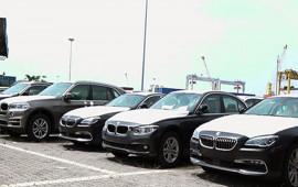 Lượng ôtô nhập khẩu từ Đức vượt Thái Lan đầu tháng 5