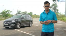 Đánh giá xe Hyundai SantaFe 2.4 máy xăng: Quá ngon trong tầm giá