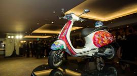 Đấu giá Vespa Sprint thu về gần 600 triệu đồng