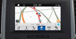 SYNC 3 tích hợp ứng dụng dẫn đường và thông tin giao thông Waze