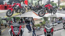 Cận cảnh Honda CB500F và CB500X tại Việt Nam