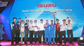 Isuzu tổ chức hội thi Tay nghề kỹ thuật viên lần thứ 15 cho các đại lý