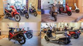SYM Việt Nam ra mắt loạt xe số và xe ga mới