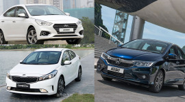 Chọn Kia Cerato SMT, Honda City 1.5Top hay Hyundai Accent?