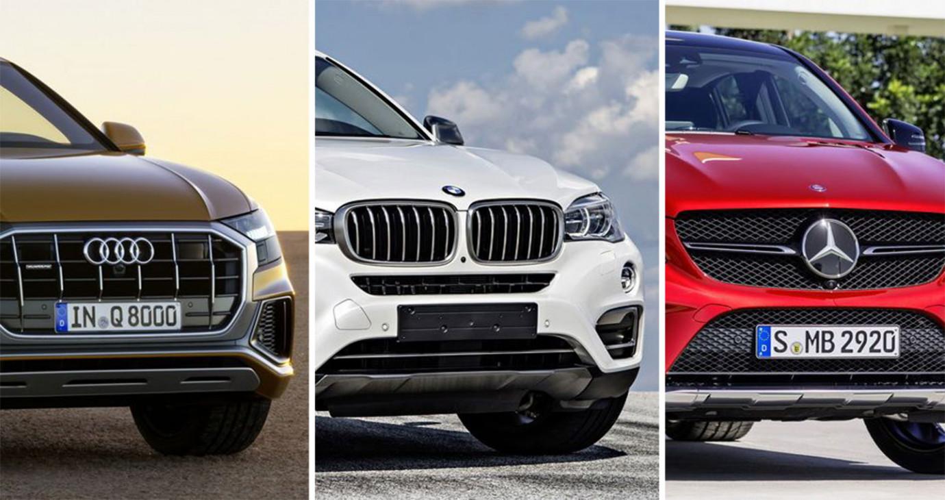Audi Q8, BMW X6, Mercedes-Benz GLE Coupe: Cuộc chiến khốc liệt