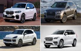 Đặt lên bàn cân BMW X5 2019, Audi Q7, Volvo XC90 và Porsche Cayenne