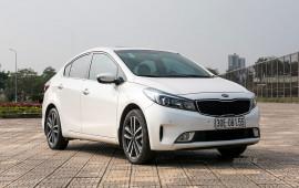 10 mẫu xe bán chạy nhất Việt Nam tháng 5/2018: Kia Cerato tăng trưởng mạnh
