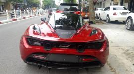 Siêu phẩm McLaren 720S thứ 2 tại Việt Nam lần đầu xuống phố