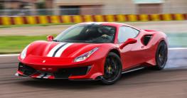"""Ngắm siêu """"ngựa"""" Ferrari 488 Pista trong bộ ảnh cực chất"""